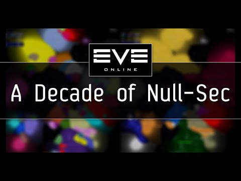 EVE Online - A Decade of Null-Sec Timelapse