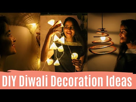 DIY Diwali Decoration Ideas / DIY Diwali Home Decor Ideas | Dhara Patel