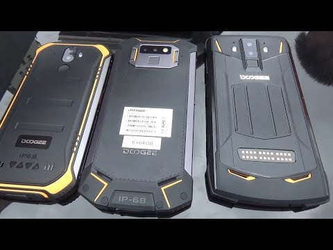 Как протестировать защищённый телефон? Телефоны DOOGEE серии S и смартфон S40