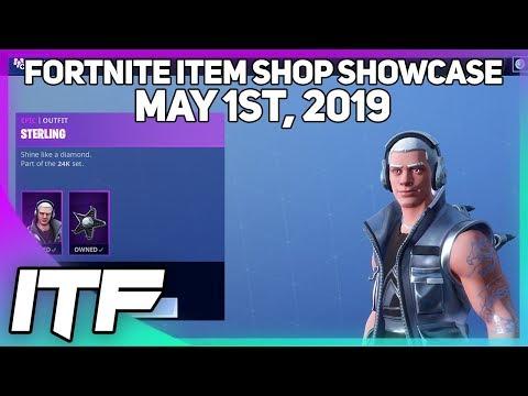 Fortnite Item Shop *NEW* STERLING SKIN AND INFERNAL WRAP! [May 1st, 2019] (Fortnite Battle Royale)