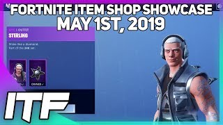 Fortnite Item Shop *NEW* STERLING SKIN AND INFERNAL WRAP! [May 1st, 2019] (Fortnite Battle Royale)