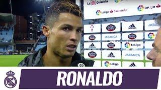 """Cristiano Ronaldo: """"Falta un partido y sabemos que tenemos que ir hasta el final"""