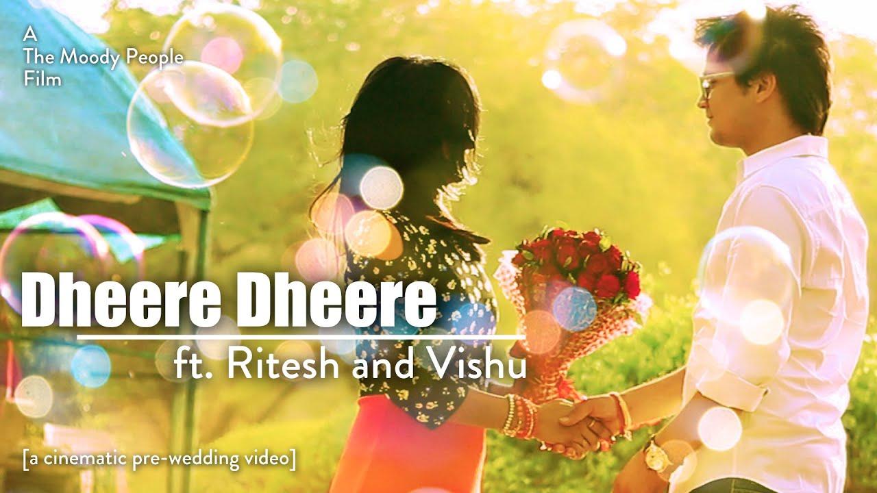 ritesh and vishu best pre wedding video 2016 bollywood song remake hd