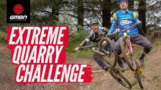 Blake Vs Elliott Heap | Mountain Bike Challenge In An Abandoned Quarry