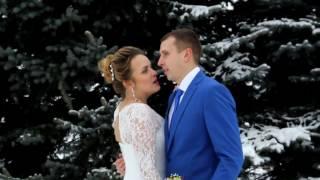 Короткометражка на свадьбу зимой