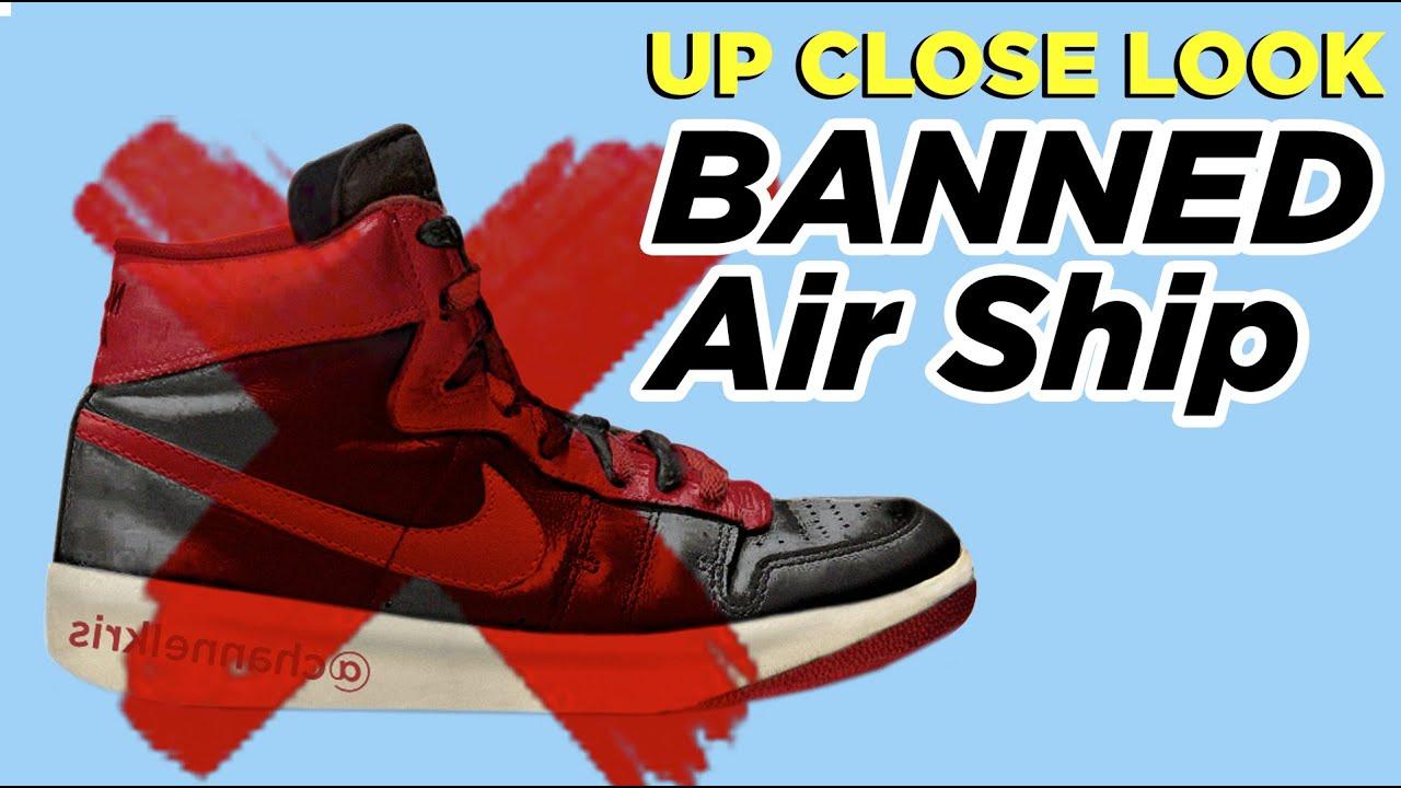 BANNED Nike Air Ships - \