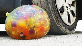 CAR VS BALLOON