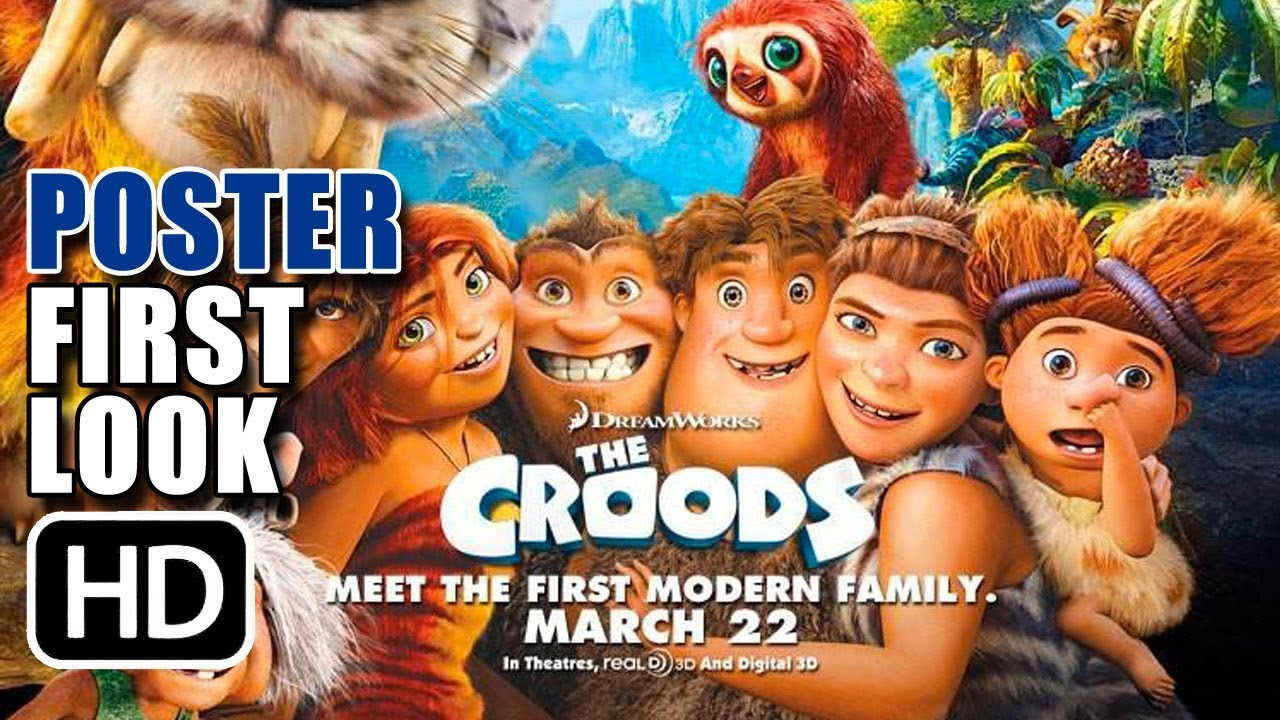 The Croods Movie Poster 2013 Youtube