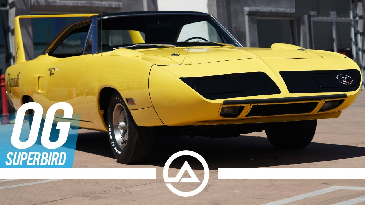 Banned by NASCAR? The Legendary Winged Plymouth Superbird | Some Myth Busting and Driving