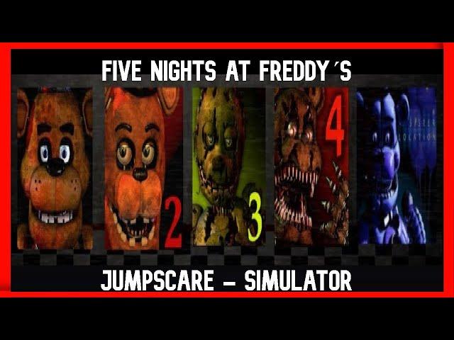 Fnaf 12345 Jumpscare Simulator