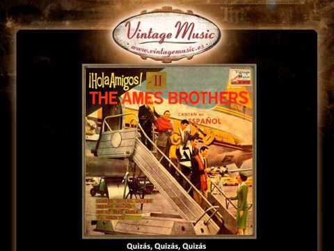 The Ames Brothers -- Quizás, Quizás, Quizás (VintageMusic.es)