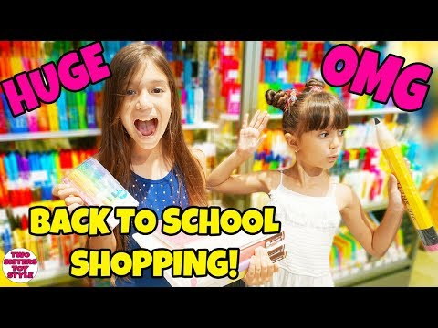 BACK TO SCHOOL SUPPLIES SHOPPING and HAUL + GIVEAWAY 2018! Tokyo Style