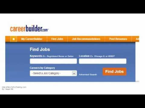 Top Job Search Boards And Search Engines