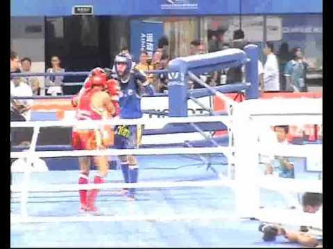 IFMA FINAL 51kg Beijing2010, Eva (Spain) VS Oslem ...