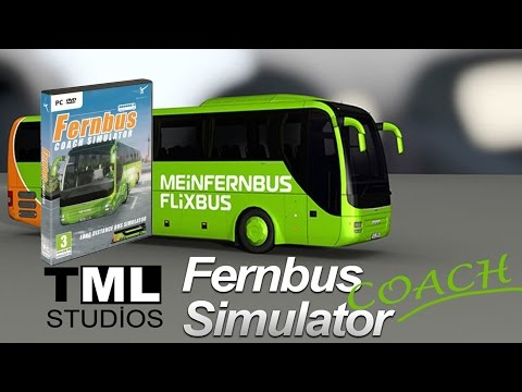 Fernbus Coach Simulator First Look Maps and Create a Custom Route