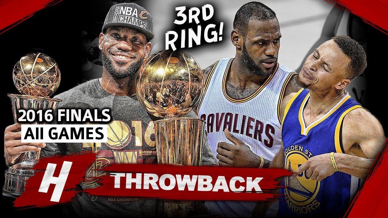 Download LeBron James 3rd Championship, EPIC Full Series Highlights vs Warriors 2016 NBA Finals - Finals MVP!
