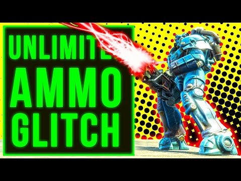 Fallout 4 Unlimited Ammo Glitch Gun Gatling Laser Location In Nuka World DLC (Working Console)!