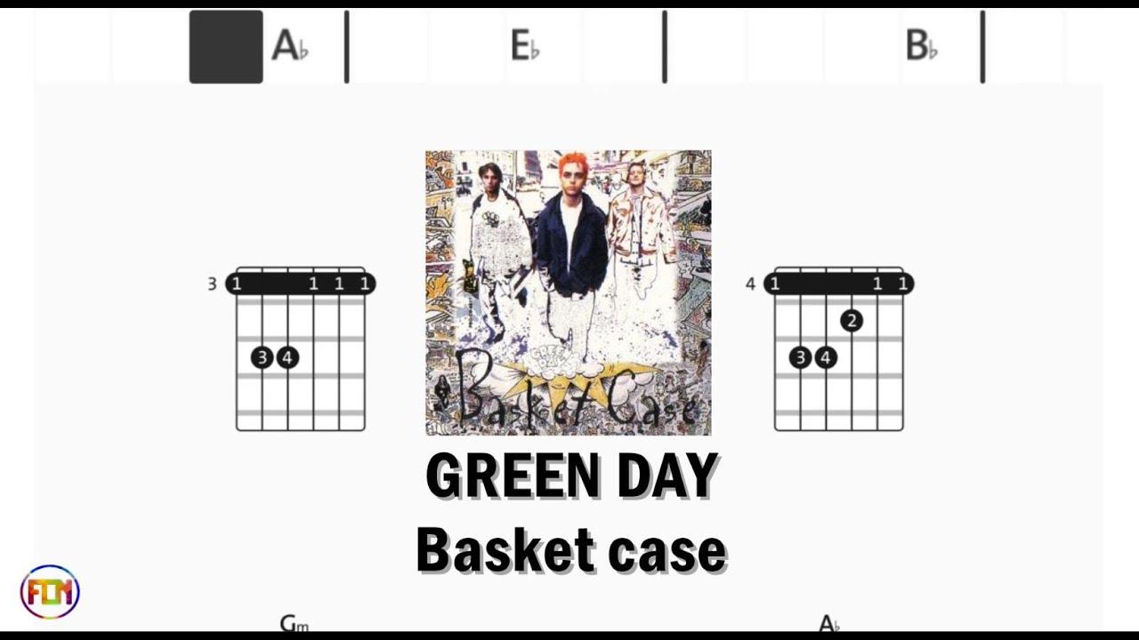GREEN DAY Basket case   Chords & Lyrics like a Karaoke HD