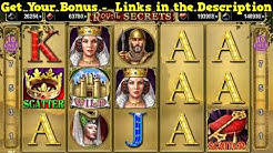 Royal Secrets Slot Machine - TOP High Roller Online Casino Slots