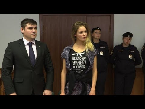 Moscow court upholds verdict against Pussy Riot member