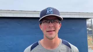 Howard baseball Ryan Kulick, Brendan Foster and Gabe Delgado 03/20/19