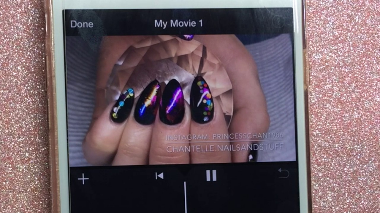 How to: Film and Edit Nail Videos with iPhone - YouTube