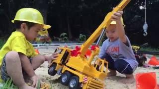 Tonka Crane Toy