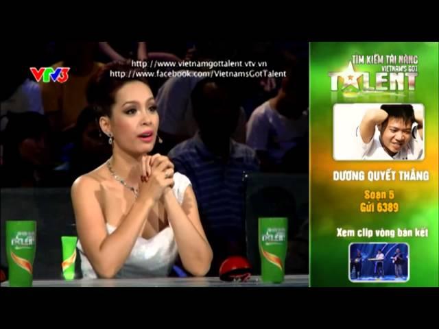 Vietnam's Got Talent 2012 – Chung Kết 1 – Dương Quyết Thắng – MS 5