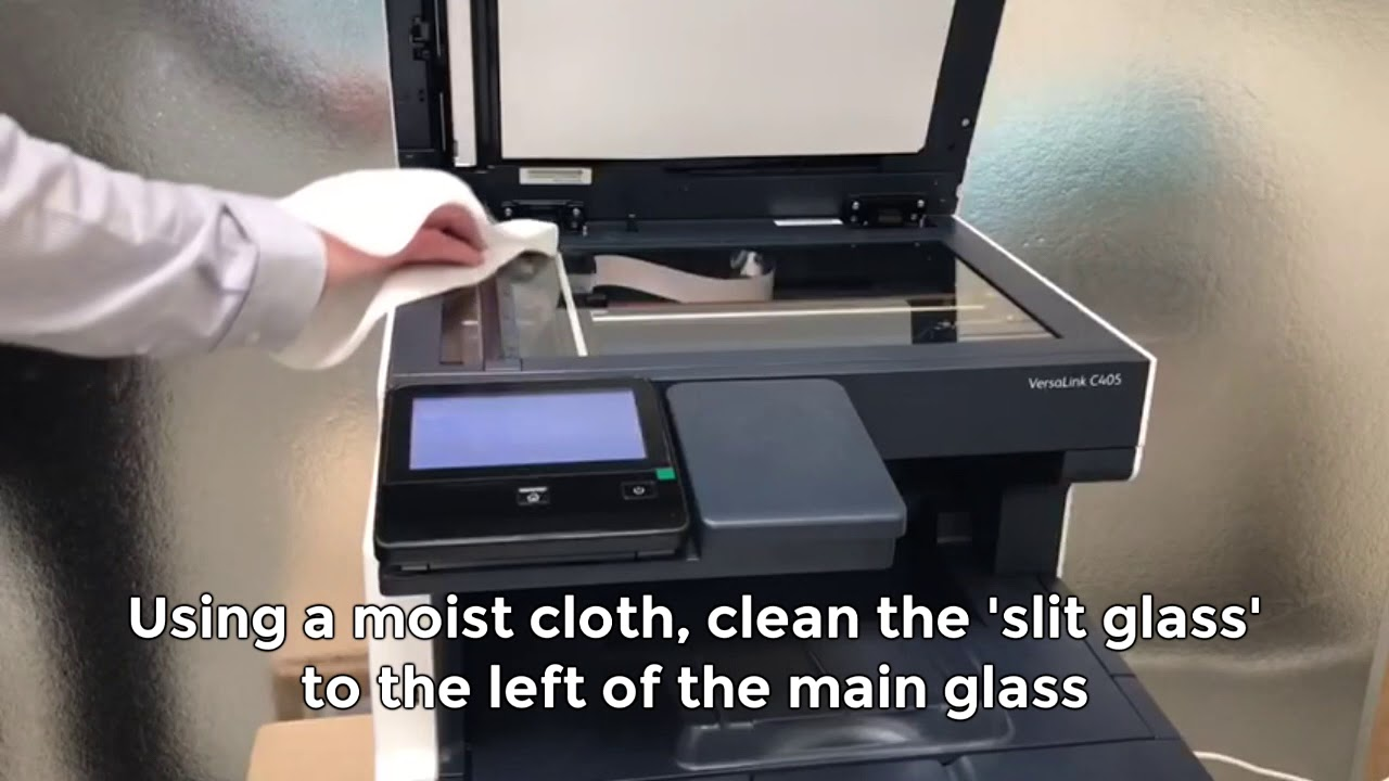 How To Resolve Lines On Copies And Scans Xerox Versalink Mfp