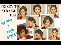 SHORT HAIR TRANSFORMATION 2018  Product Review and hair style Tutorial