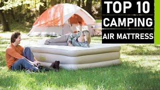 Top 10 Best Camping Air Mattresses & Air Beds