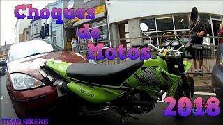 Caidas y Choques de Motos Motorcycle Crash Parte 9 2018