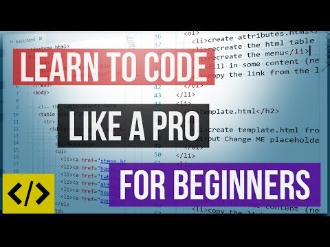 code like a pro for beginners