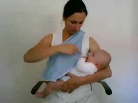 kipkep borstvoedingsdoek