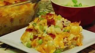 Loaded Baked Cauliflower