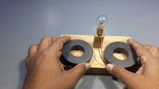 how to make free energy electric generator using lights _ science project