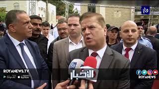 بلدية رام الله تفتتح مبنى قسم غسيل الكلى في مجمع فلسطين الطبي