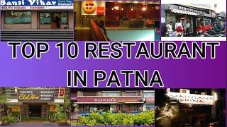 TOP 10 RESTAURANT IN PATNA