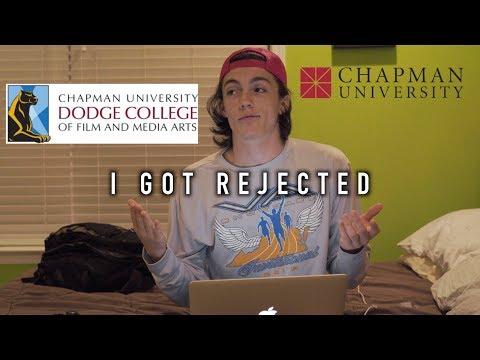 I gotdenied from chapman university