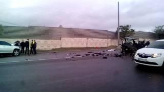 Шокирующее ДТП на набережной Днепра 19.05.17