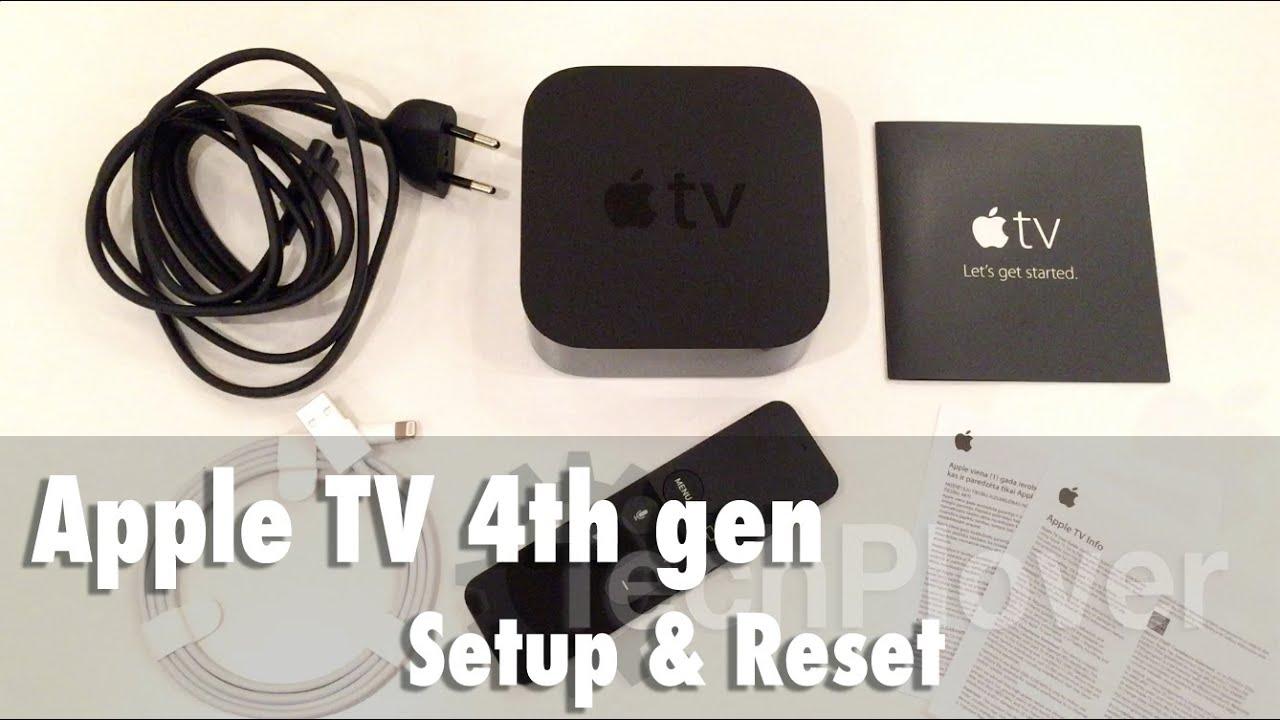 Apple TV 4th Generation - Setup & Reset