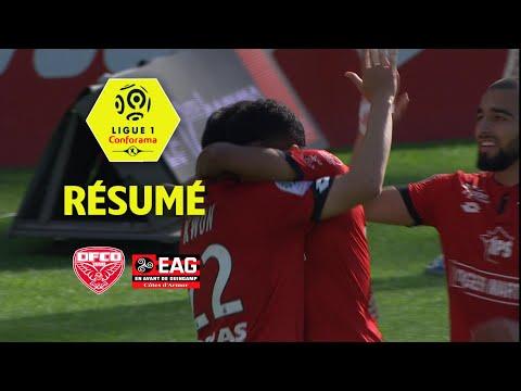 Dijon FCO - EA Guingamp ( 3-1 ) - Résumé - (DFCO - EAG) / 2017-18