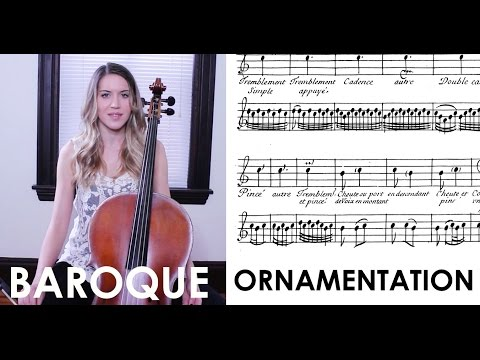 Baroque Ornamentation and Improvisation: Playing in the baroque style on period instruments