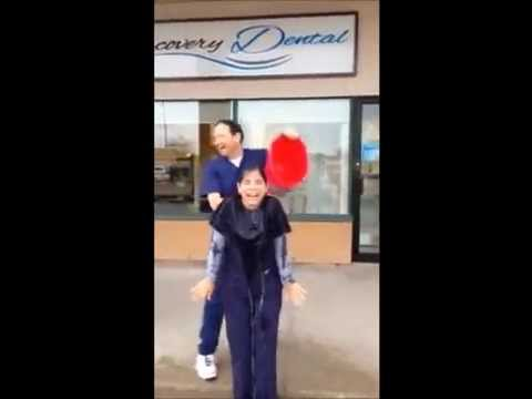 ALS Ice Bucket Challenge at Discovery Dental