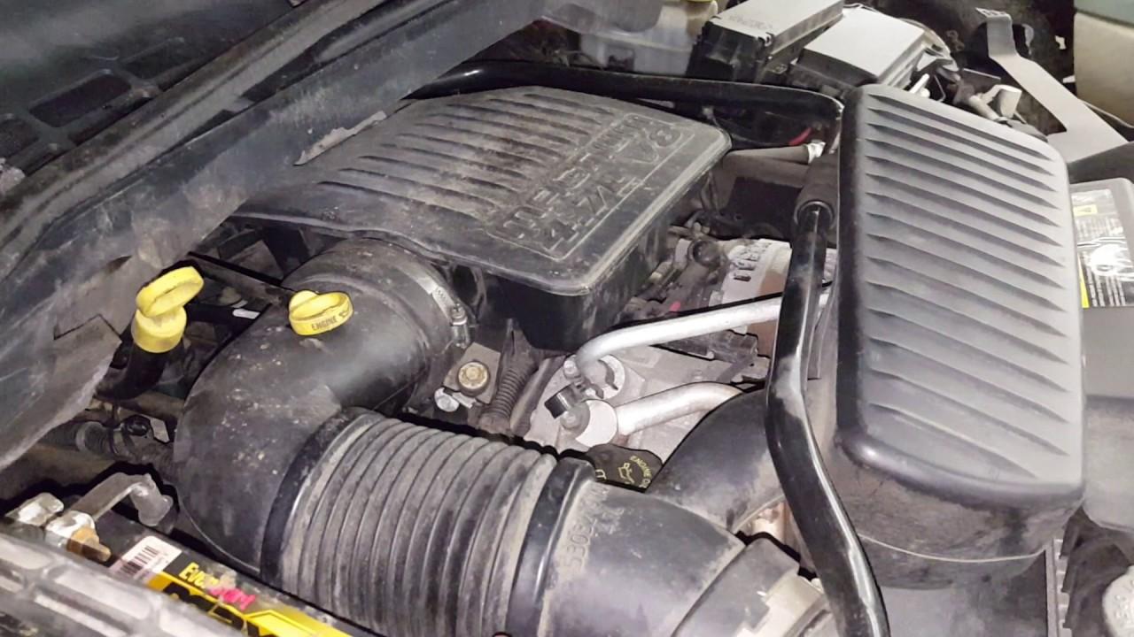 DA0033  2005 Dodge Durango ST  47L Engine  YouTube