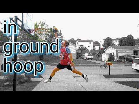 In Ground Basketball Hoop Installation