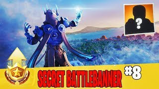 Secret Week 8 Battle Banner Location Guide in Fortnite // FREE Battle Pass Banner in Season 7