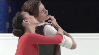 Елизавета Шанаева - Дэвид Нарижный. Ритм-танец. Гран-при России по фигурному катанию среди юниоров