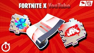 *NEW* HOW TO GET YOUTUBE SPRAY IN FORTNITE! (LIMITED TIME YOUTUBE SPRAY IN FORTNITE) Game Jam Spray