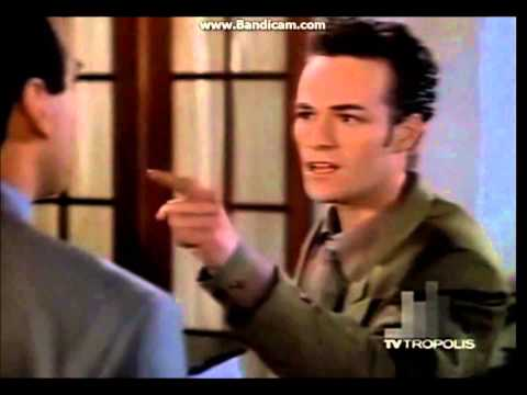 Beverly hills 90210 Jim Walsh is angry